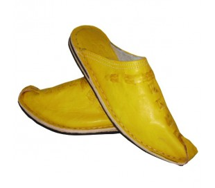 Babouches Marocaines ALADDIN jaune