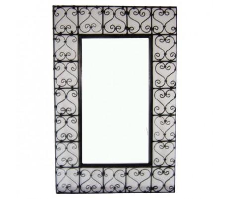 Cadre à miroir rectangulaire