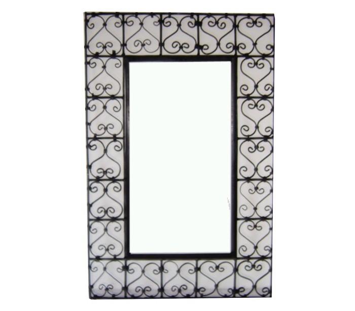 miroir fer forg rectangulaire
