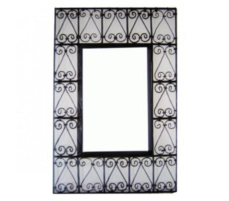 Cadre à miroir rectangulaire grand modèle