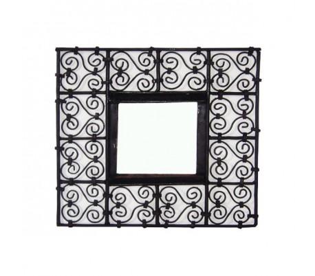 Cadre à miroir carré petit modèle 40x40