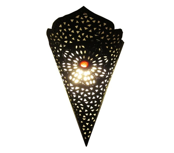 applique marocaine riad 2 fer forg au palais des nomades. Black Bedroom Furniture Sets. Home Design Ideas