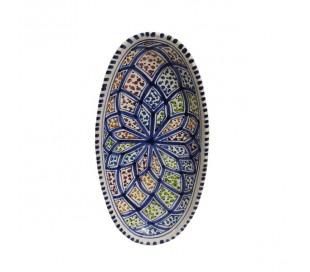 Plat marocain ovale NADIA