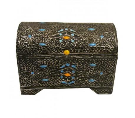 Coffre marocain FANTASIA grand modèle