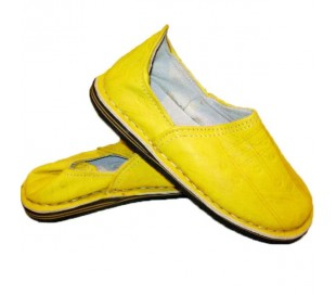 Babouches Marocaines TAROUDANT jaune