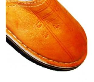 Babouches Marocaines TAROUDANT orange