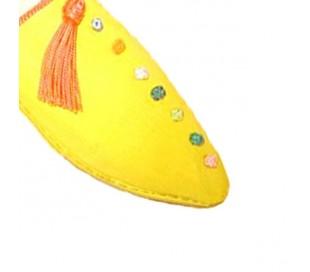 Babouches Marocaines ZAGORA jaune