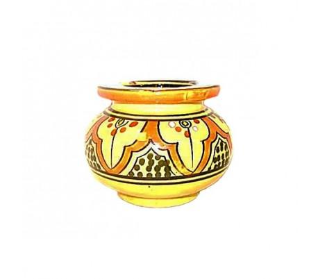 Cendrier Marocain jaune et orange