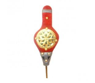 Soufflet décoratif rouge