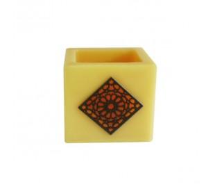 Photophore marocain jaune