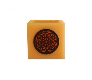 Photophore Marocain orange pâle