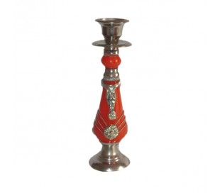 Bougeoir Marocain rouge