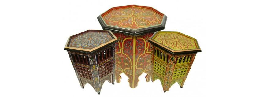 Guéridons Marocains